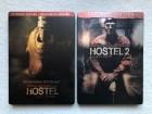 Hostel 1 + 2 * DVD * 2x Steelbook * Extended Versionen