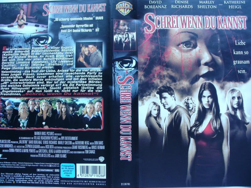 Schrei wenn Du kannst ... David Boreanaz  ... VHS