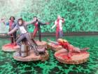 Zombie Hunter Babe und 4 Zombies 1/35 FIGUREN