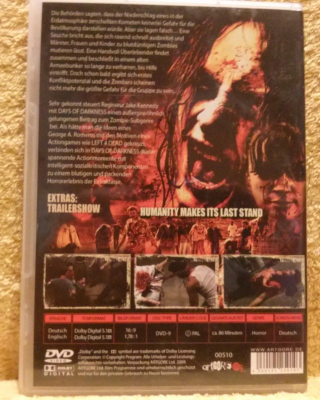Days of Darkness Dvd Uncut (V3)
