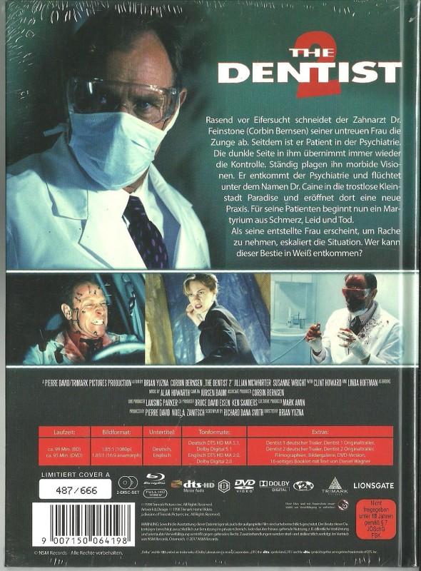 THE DENTIST 2 - Mediabook  OVP