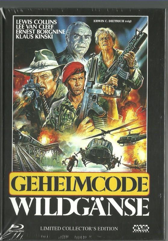 GEHEIMCODE WILDGÄNSE - Mediabook  OVP