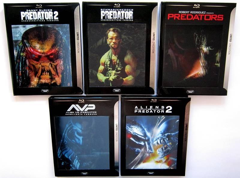 Alien vs Predator EXT. BR&DVD Mediabook 3D Cinedition ovp