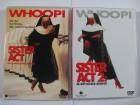 Sister Act 1 + 2 - Nonne Whoopi Goldberg, James Coburn