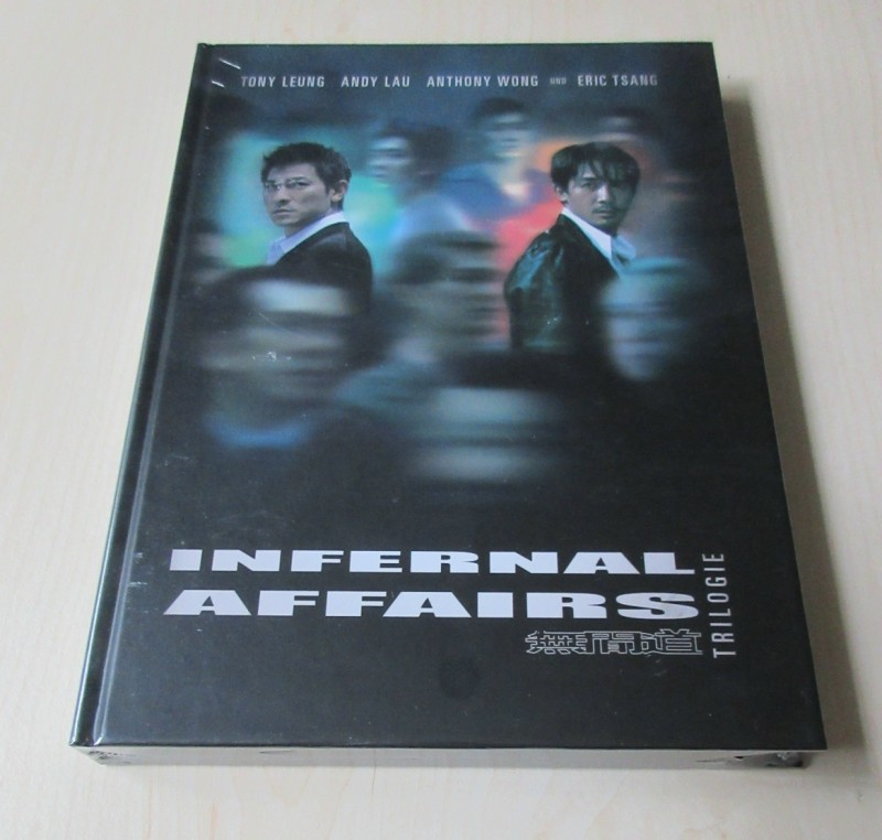 Infernal Affairs Trilogie - Mediabook - NEU OVP