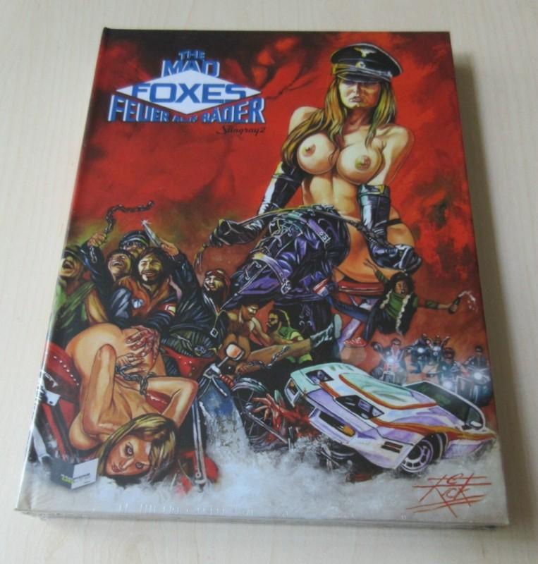 The Mad Foxes - Mediabook - NEU OVP - Lim. 1333