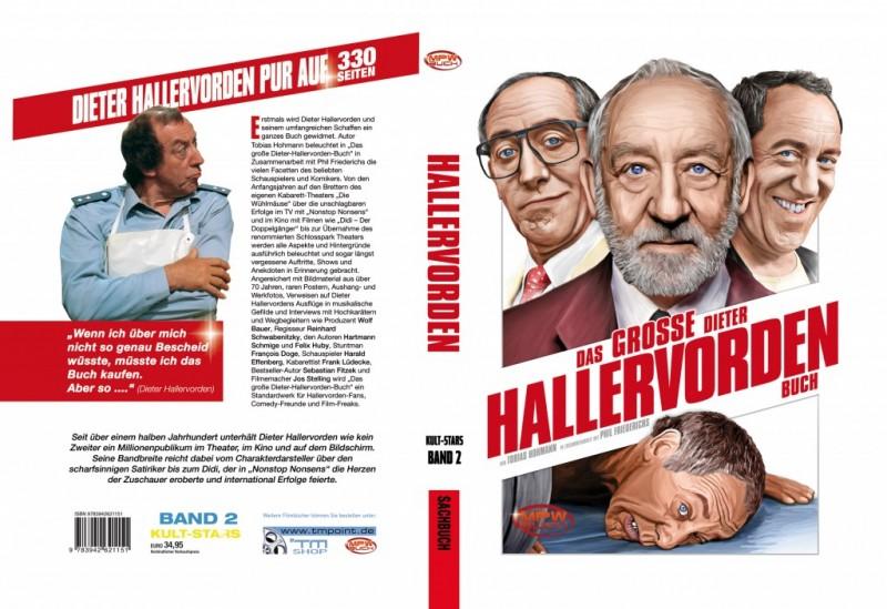DAS GROSSE DIETER HALLERVORDEN BUCH - HARDCOVER - 330 SEITEN