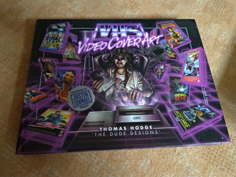 VHS VIDEO COVER ART Buch Top Zustand The Dude Designs