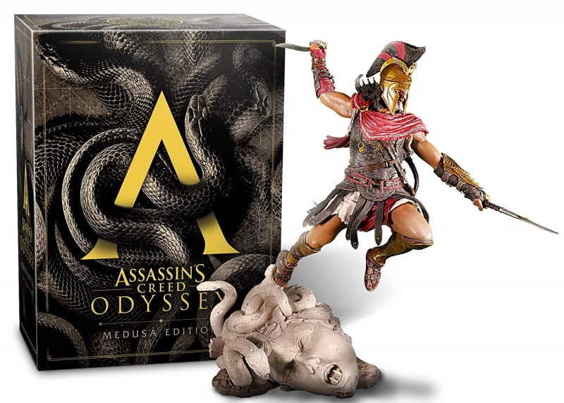 ASSASSIN'S CREED ODYSSEY - MEDUSA EDITION - PS4 SPIEL