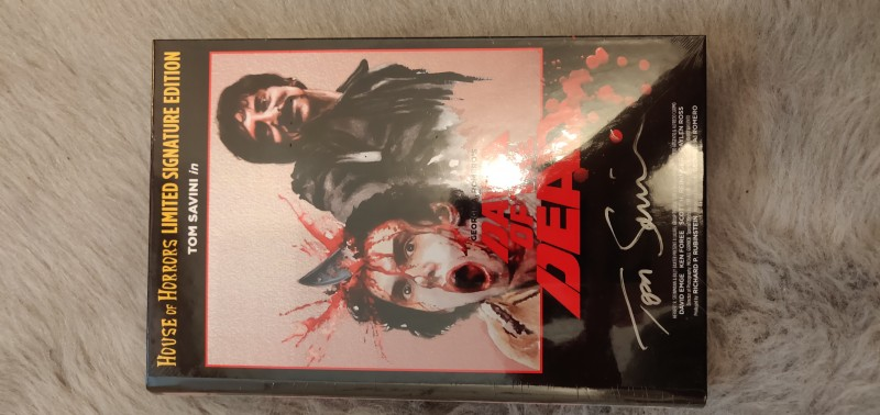 Zombie Dawn of the Dead Hartbox HoH Tom Savini 55/99