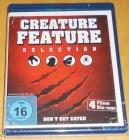 Creature Feature Selection 4-Disc Blu-ray Neu & OVP