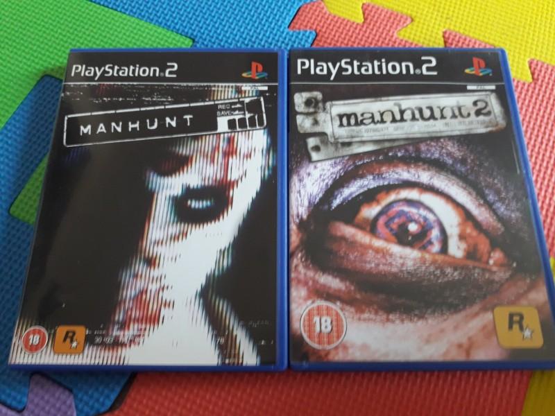 Manhunt 1+2 PS2 Uncut Deutsche Texte