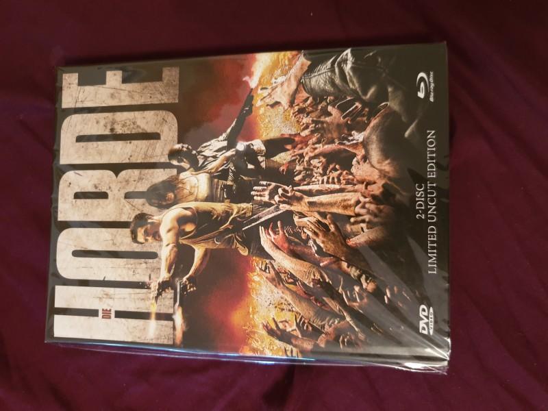 Die Horde 2 disc uncut Mediabook opp