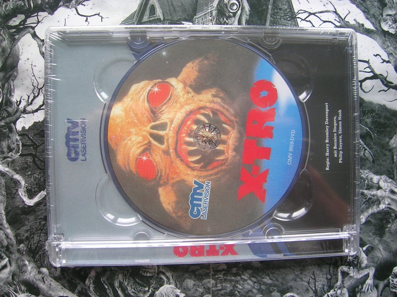 X-TRO UNCUT CMV DVD GLASBOX EDITION NEU OVP