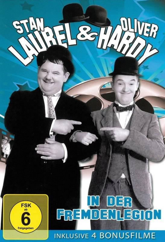 Laurel & Hardy - In der Fremdenlegion DVD OVP