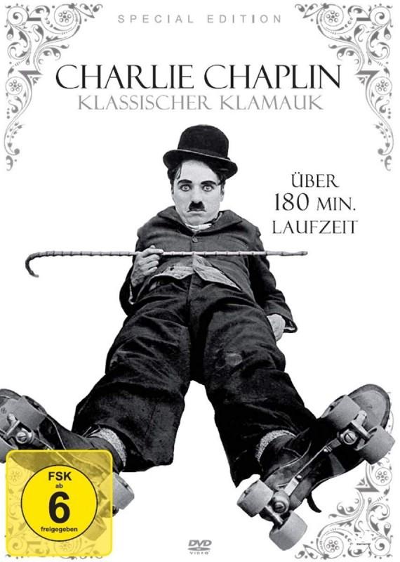 Charlie Chaplin - Klassischer Klamauk DVD Neuwertig