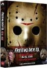 Freitag der 13. 8 BR & DVD 3 Disc MEDIABOOK WATTIERT ovp