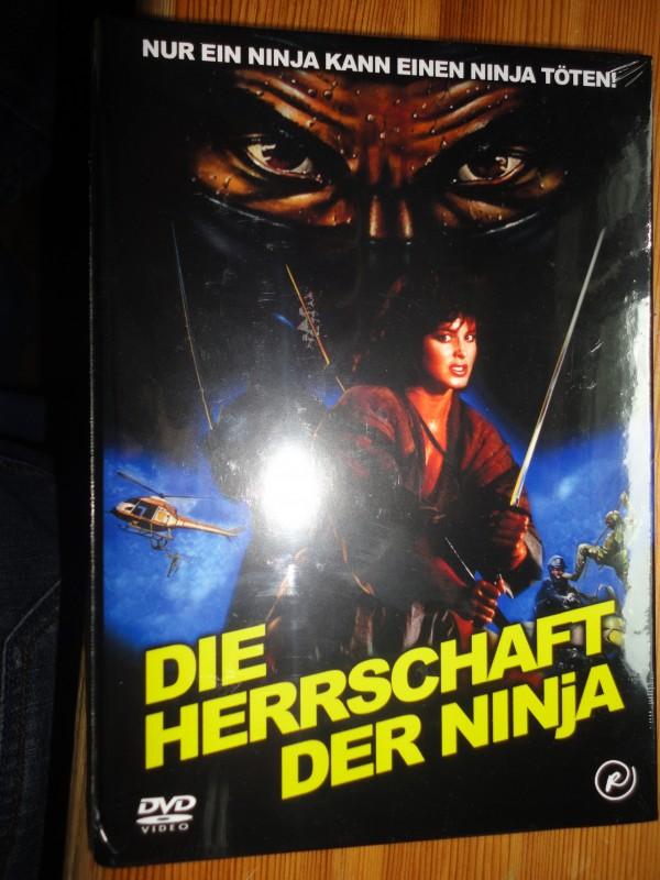 Die Herrschaft der Ninja, kl. Hartbox, deutsch, neu, DVD