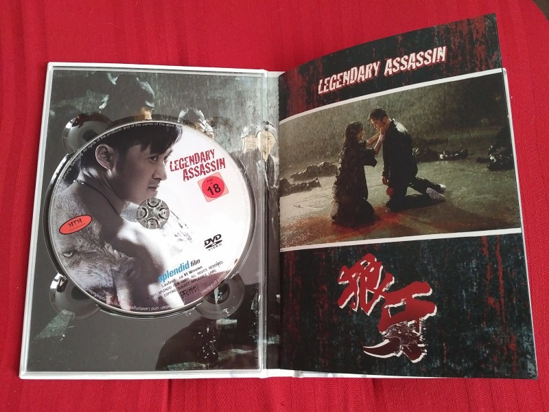 Legendary Assassin /Blu-Ray /DVD /Mediabook /Cover B /limiti