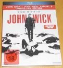 John Wick 1 & 2 Limited Fan Edition Blu-ray Neu & OVP