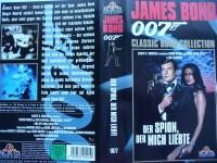 007 James Bond ... Der Spion, der mich liebte ... VHS
