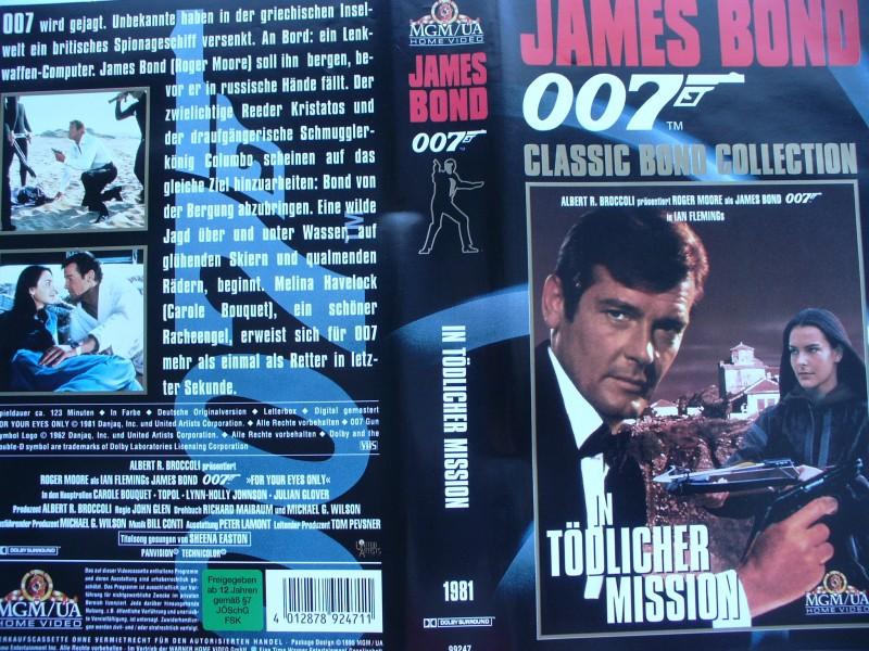007 James Bond ... In tödlicher Mission ... VHS