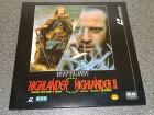 HIGHLANDER 1 + 2  Laserdisc LD Top Zustand