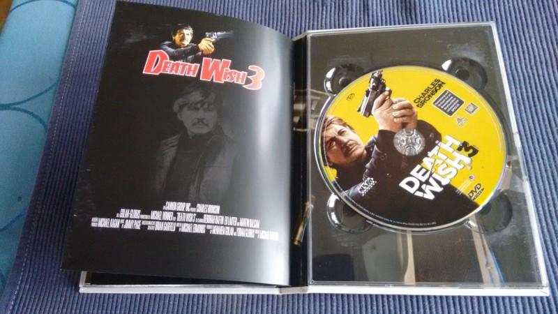 Death Wish 3  - Mediabook - Blu ray & DVD - Cover B - OOP