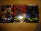 Ninja 1 + 2 + 3, kl. Hartbox, deutsch, neu, DVD