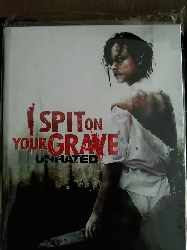 I Spit on Your Grave Unrated kl.BD Hartbox 040/131Stk.