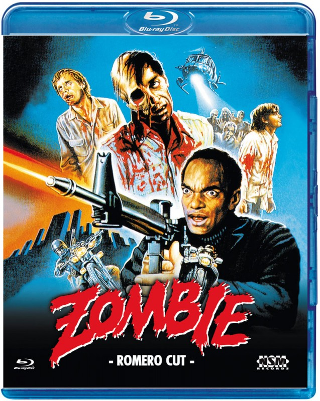 *Zombie Dawn of the Dead - Romero Cut - Blu Ray*