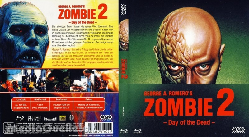 * Zombie 2 Day of the Dead BluRay *