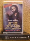 Return of the living dead 3 VHS Brian Yuzna Uncut