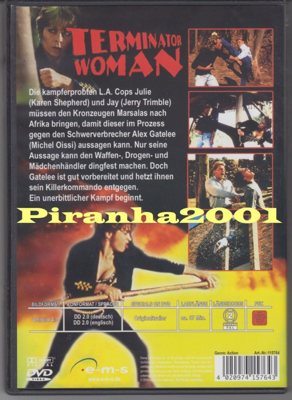 Terminator Woman - Thunderclap - Knallhart - Kult