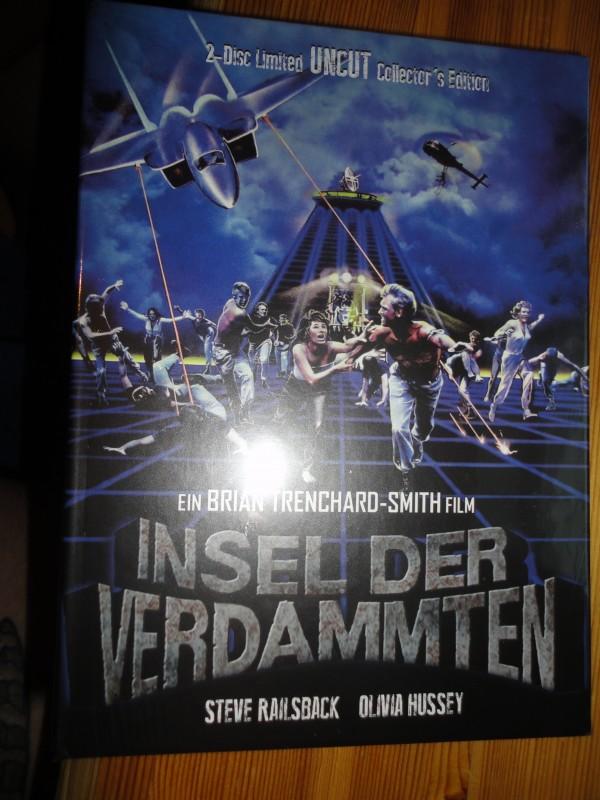 Insel der Verdammten, Mediabook, deutsch, neu, BD + DVD