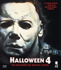 Halloween 4 [Blu-ray] (deutsch/uncut) NEU+OVP