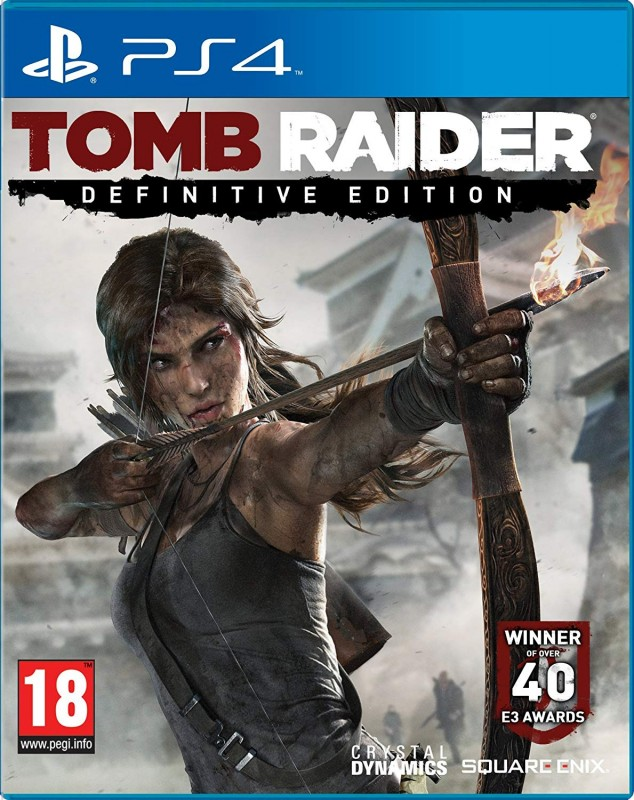 Tomb Raider Definitive Edition [PlayStation 4]