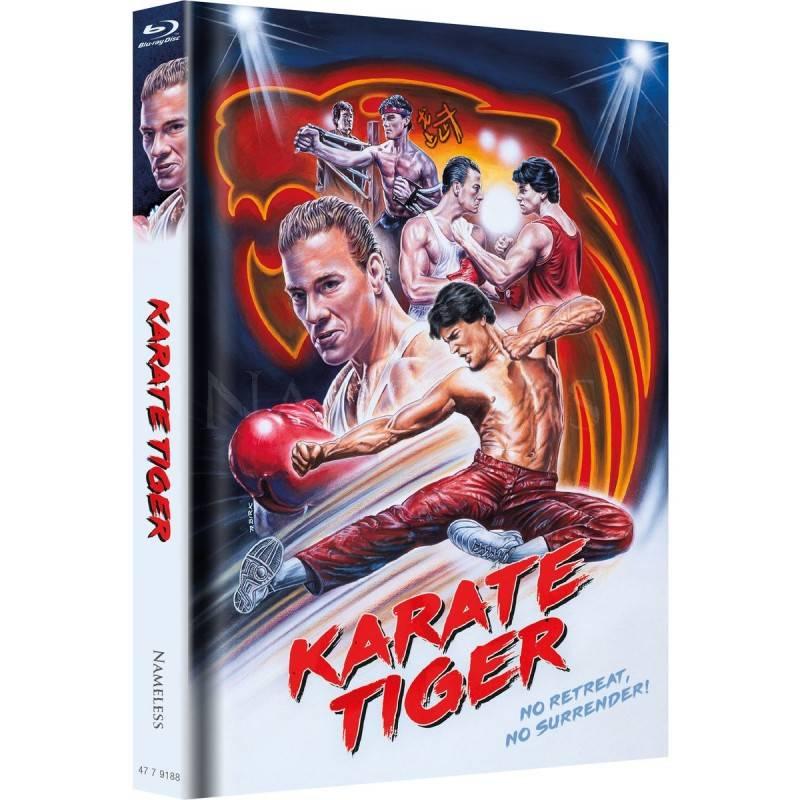 Karate Tiger - Mediabook - Cover B - lim. Nr. 77/333