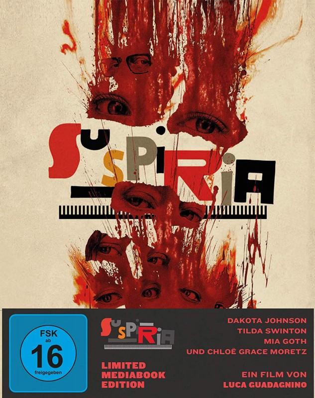 Suspiria - Ein Horror Meisterwerk - Limited Mediabook - OVP