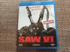 Blu Ray SAW VI ( 6 ) Unrated & Uncut!!! Splatter