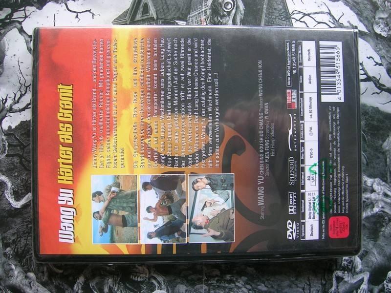 WANG YU HÄRTER ALS GRANIT DVD EDITION NEU OVP