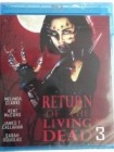 * Return of the living Dead 3 Blu-ray *