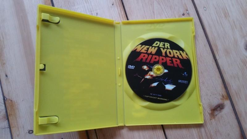 Der New York Ripper,Astro,Kult-Klassiker Ungeschnitten,DVD