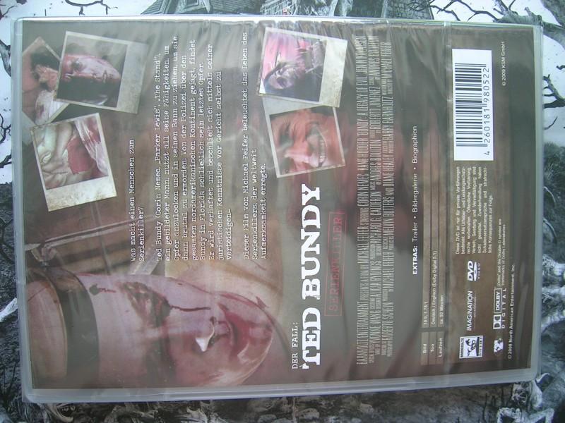 TED BUNDY SERIENKILLER KANE HODDER DVD EDITION NEU OVP