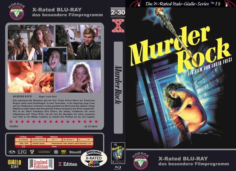 X-Rated: Murder Rock (Große BR-Hartbox C) NEU ab 1€