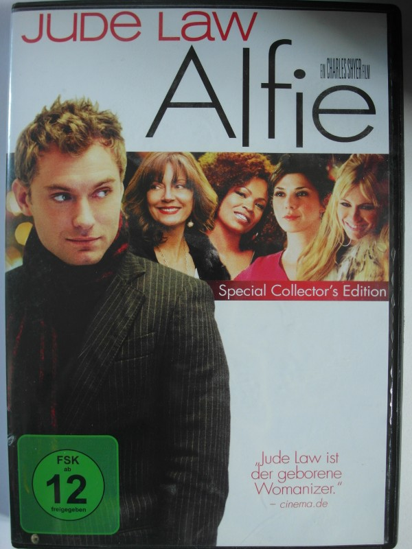 Alfie - Womanizer Jude Law, sexy Witwe, Playboy, Mick Jagger