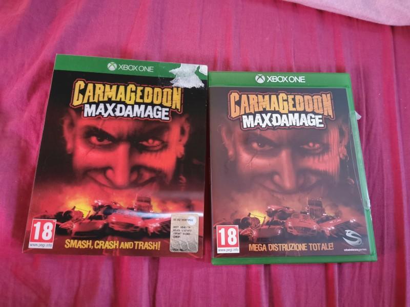 Carmageddon MaxDamage Xbox One Microsoft Uncut