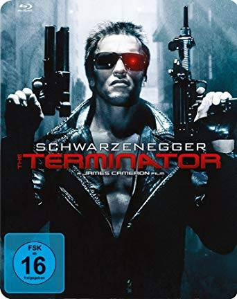 Terminator 1 (1984) Blu Ray STEELBOOK UNCUT wie NEU