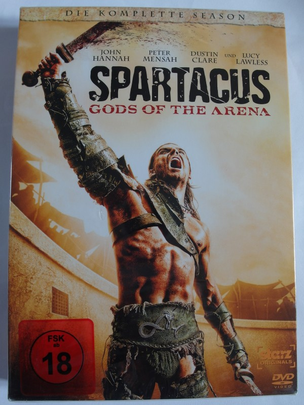 Spartacus - Gods of the Arena - Komplette Season - J. Hannah