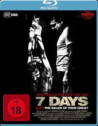 7 Days (2010) Blu Ray UNCUT !!!  DEUTSCH (Störkanal Edition)
